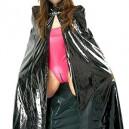 Cool Black PVC Cape