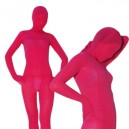 Supply Ideal Red Plum Velvet Unisex Morph Suit Zentai Suit