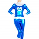 Shiny Metallic Fantastic 4 Unisex Catsuit