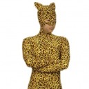 Supply Superior Leopard Pattern Lycra Spandex Morph Suit Zentai Catsuit