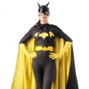 Supply Black and Yellow Batman Halloween Full Body Spandex Holiday Unisex Lycra Morph Zentai Suit