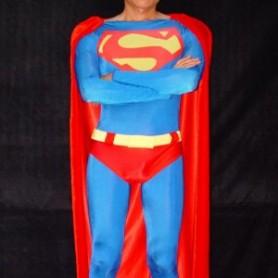 Lycra  Superman Spandex Costume