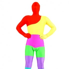 Colorful Lycra Spandex Morph Suit Zentai Suit