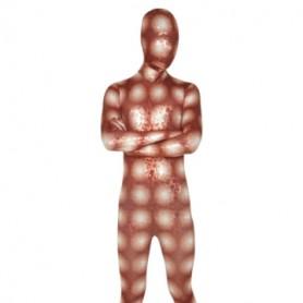 Golden Rose Lycra Spandex Unisex Morph Suit Zentai Suit