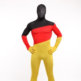 Germany National Flag Full Body Halloween Spandex Holiday Unisex Cosplay Zentai Suit