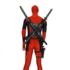 Black Deadpool Sword Holder For Deadpool Cosplayer