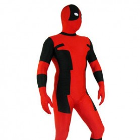 Classic Dealpool Spandex Deadpool Zentai Suit