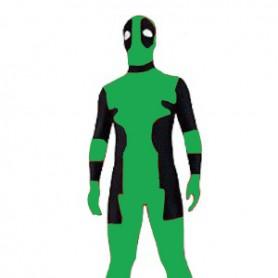 Green Deadpool Lycra Spandex Zentai Suit