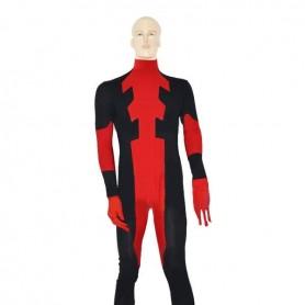 Red Deadpoo Ccostume Spandex Deadpool Cotume