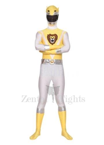 Detachable Mask Unisex Lycra Morph Suit Zentai Suit