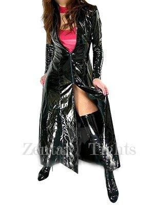 Suitable Black PVC Cape