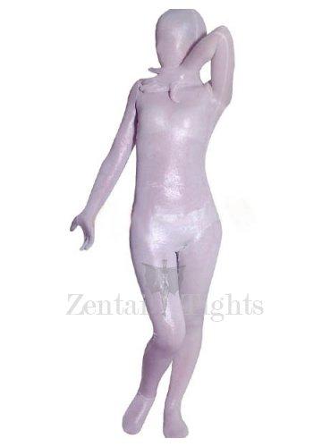White Velvet Unisex Morph Suit Zentai Suit