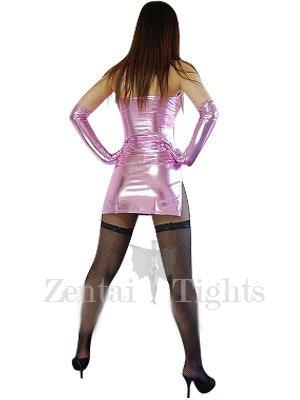 Cheap Superior Pink Shiny Metallic Sexy Dress