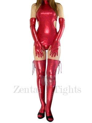 Popular Classic Red Shiny Metallic Sexy Dress