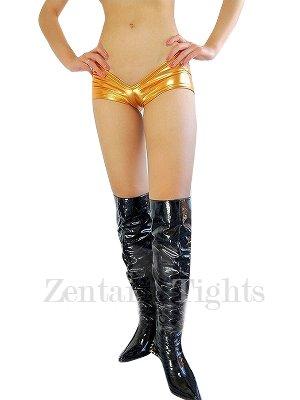 Gold Shiny Metallic Sexy Bottom