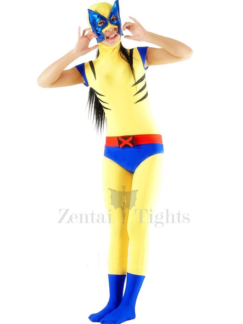 Lycra Spandex X-Men Wolverine Catsuit