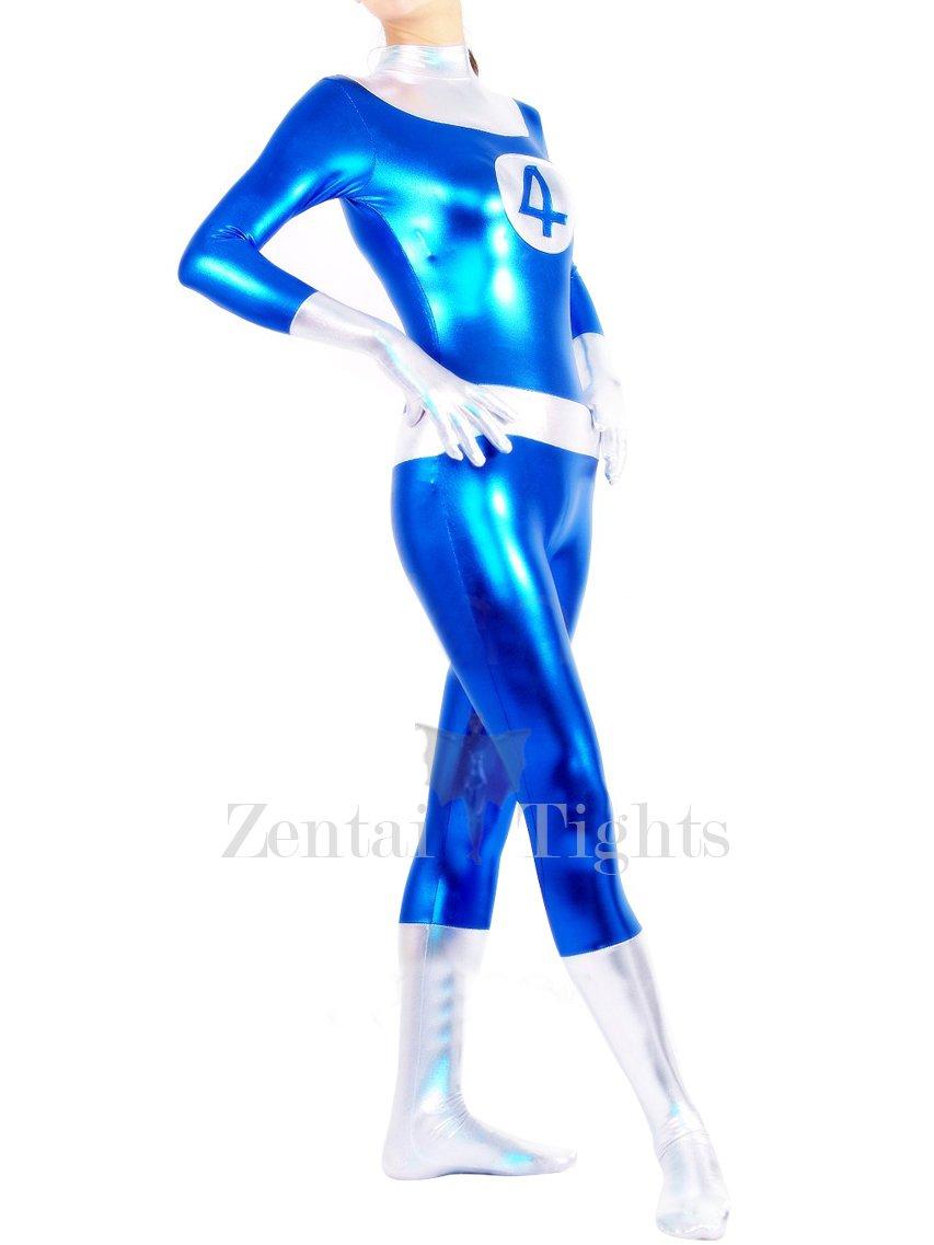 Shiny Metallic Fantastic 4 Unisex Catsuit