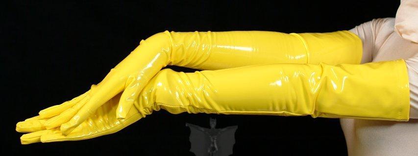 ZENTAI Yellow PVC Gloves